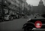 Image of Street Vaclavske Prague Czechoslovakia, 1938, second 9 stock footage video 65675027055