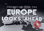 Image of European recovery after war Europe, 1950, second 10 stock footage video 65675027087