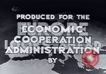 Image of European recovery after war Europe, 1950, second 11 stock footage video 65675027087