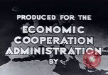 Image of European recovery after war Europe, 1950, second 12 stock footage video 65675027087