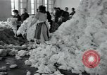 Image of wool factory Mazamet France, 1950, second 6 stock footage video 65675027110