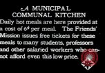 Image of Municipal Communal kitchen Vienna Austria, 1923, second 1 stock footage video 65675027114