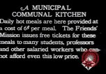 Image of Municipal Communal kitchen Vienna Austria, 1923, second 3 stock footage video 65675027114