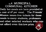 Image of Municipal Communal kitchen Vienna Austria, 1923, second 9 stock footage video 65675027114