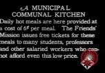 Image of Municipal Communal kitchen Vienna Austria, 1923, second 12 stock footage video 65675027114