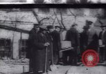 Image of Soldiers and workers at a construction site Russia, 1917, second 1 stock footage video 65675027132