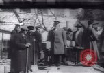 Image of Soldiers and workers at a construction site Russia, 1917, second 2 stock footage video 65675027132