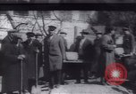 Image of Soldiers and workers at a construction site Russia, 1917, second 3 stock footage video 65675027132
