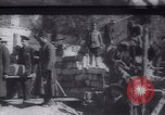 Image of Soldiers and workers at a construction site Russia, 1917, second 6 stock footage video 65675027132