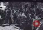 Image of Soldiers and workers at a construction site Russia, 1917, second 7 stock footage video 65675027132
