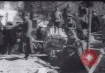 Image of Soldiers and workers at a construction site Russia, 1917, second 8 stock footage video 65675027132