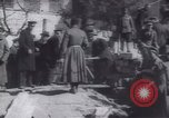 Image of Soldiers and workers at a construction site Russia, 1917, second 9 stock footage video 65675027132