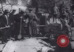 Image of Soldiers and workers at a construction site Russia, 1917, second 11 stock footage video 65675027132