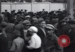 Image of crowded market street Russia, 1937, second 2 stock footage video 65675027138