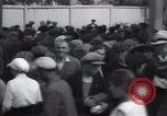 Image of crowded market street Russia, 1937, second 3 stock footage video 65675027138