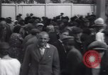 Image of crowded market street Russia, 1937, second 4 stock footage video 65675027138