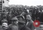 Image of crowded market street Russia, 1937, second 10 stock footage video 65675027138