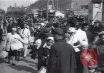 Image of crowded market street Russia, 1937, second 12 stock footage video 65675027138