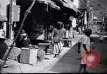 Image of Merchant  stalls Aden Yemen, 1916, second 5 stock footage video 65675027159