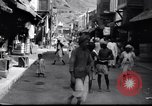 Image of Merchant  stalls Aden Yemen, 1916, second 8 stock footage video 65675027159