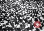 Image of Men crowded in open courtyard Turkey, 1920, second 4 stock footage video 65675027161