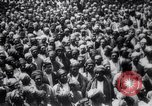 Image of Men crowded in open courtyard Turkey, 1920, second 5 stock footage video 65675027161
