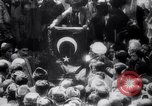 Image of Men crowded in open courtyard Turkey, 1920, second 6 stock footage video 65675027161