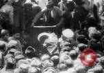 Image of Men crowded in open courtyard Turkey, 1920, second 9 stock footage video 65675027161