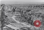 Image of American troops occupying trenches Belgium, 1918, second 7 stock footage video 65675027172
