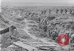 Image of American troops occupying trenches Belgium, 1918, second 11 stock footage video 65675027172