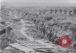 Image of American troops occupying trenches Belgium, 1918, second 12 stock footage video 65675027172