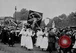 Image of Emmeline Pankhurst London England United Kingdom, 1915, second 8 stock footage video 65675027181