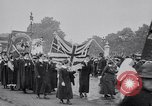 Image of Emmeline Pankhurst London England United Kingdom, 1915, second 11 stock footage video 65675027181