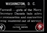 Image of Female Yeomen of the US navy Washington DC USA, 1920, second 1 stock footage video 65675027182