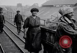 Image of British women employed in a factory United Kingdom, 1915, second 5 stock footage video 65675027184