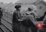 Image of British women employed in a factory United Kingdom, 1915, second 6 stock footage video 65675027184