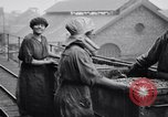 Image of British women employed in a factory United Kingdom, 1915, second 7 stock footage video 65675027184