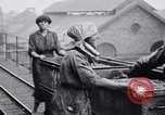 Image of British women employed in a factory United Kingdom, 1915, second 8 stock footage video 65675027184