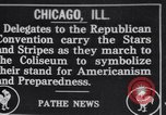 Image of Republican National Convention Chicago Illinois USA, 1916, second 1 stock footage video 65675027187