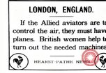 Image of British women work in aircraft factory England, 1917, second 1 stock footage video 65675027190
