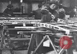 Image of British women work in aircraft factory England, 1917, second 6 stock footage video 65675027190