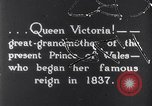Image of Queen Victoria Dublin Ireland, 1900, second 1 stock footage video 65675027193