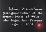 Image of Queen Victoria Dublin Ireland, 1900, second 2 stock footage video 65675027193