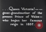Image of Queen Victoria Dublin Ireland, 1900, second 3 stock footage video 65675027193