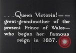 Image of Queen Victoria Dublin Ireland, 1900, second 4 stock footage video 65675027193
