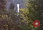 Image of Waterfall seen from Amtrak train United States USA, 1985, second 8 stock footage video 65675027197