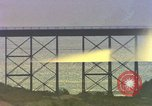 Image of Train on high trestle United States USA, 1985, second 1 stock footage video 65675027206