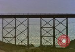 Image of Train on high trestle United States USA, 1985, second 3 stock footage video 65675027206