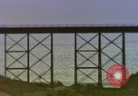Image of Train on high trestle United States USA, 1985, second 4 stock footage video 65675027206
