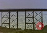 Image of Train on high trestle United States USA, 1985, second 5 stock footage video 65675027206